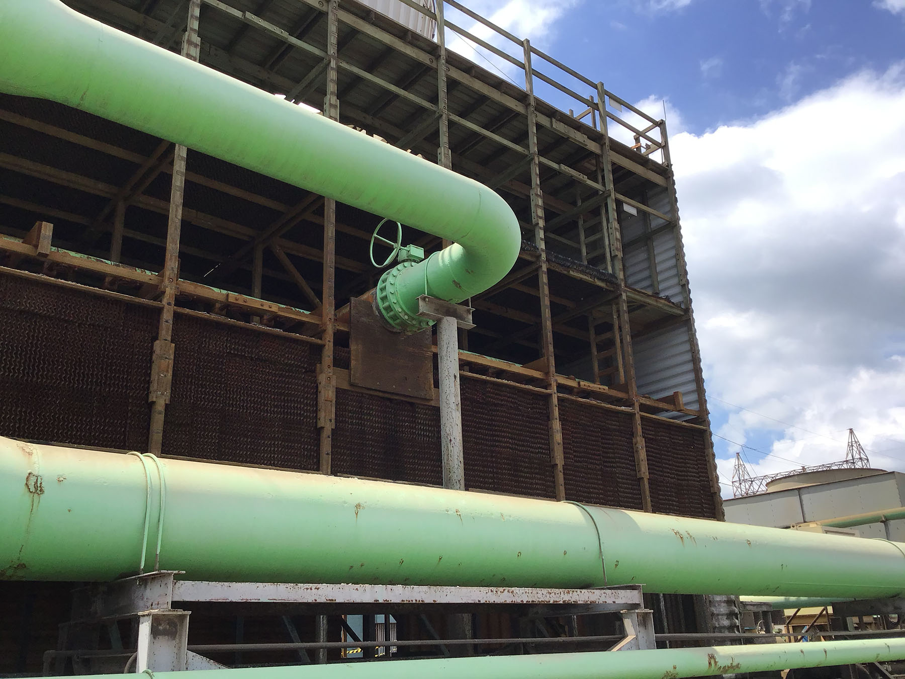 CMC Cooling Tower Sheeting