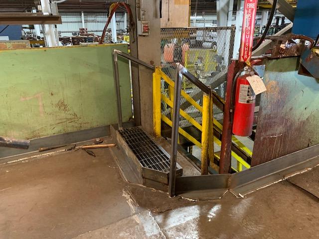 Hanna Steel Containment Floor